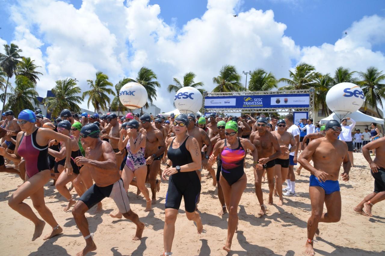 DSC 9607 - Sprint Triathlon Sesc Paraíba e Sesc Travessia Dia do Marinheiro acontecem neste fim de semana