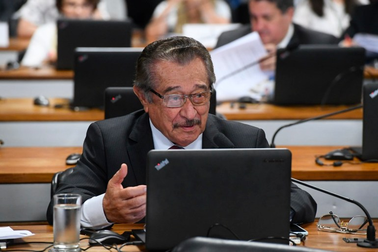 José Maranhão - Senador José Maranhão tem quadro estável e segue consciente, porém sem previsão de alta