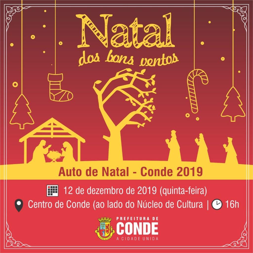 Natal dos Bons Ventos 2019 2 - Segunda edição do 'Natal dos Bons Ventos' acontece nesta quinta-feira em Conde