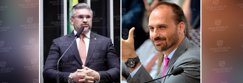 WhatsApp Image 2019 12 09 at 16.59.58 - 'VOCÊ É UM MENTIROSO': Julian Lemos responde provocação de Eduardo Bolsonaro