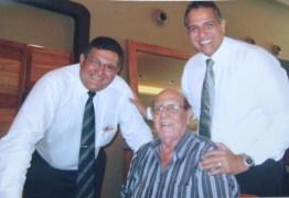 Prefeito Chico Mendes decreta luto oficial pela morte do desembargador Coriolano Dias de Sá, filho natural de São José de Piranhas