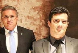 SANÇÃO PRESIDENCIAL: Julian Lemos chama de 'esdrúxulo' texto que cria 'juiz de garantias' e publica foto ao lado de Sérgio Moro