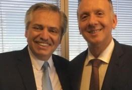 Aguinaldo Ribeiro visita presidente eleito de Argentina Alberto Fernandez e exalta agenda estruturante da Câmara