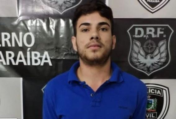 acusado 300x202 - Homem é preso acusado de envolvimento em explosão e roubo a posto de combustível