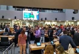 REFORMA DA PREVIDÊNCIA: Servidores da PM ocupam plenário e pedem audiência na ALPB