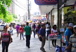 Paraíba registra queda de 5,3% nas vendas do comércio varejista em março, primeiro mês de quarentena