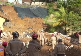 Deslizamento de barreira deixa cinco mortos, três feridos e dois desaparecidos no Recife