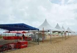 Cadastro para instalação de tendas na orla de João Pessoa termina nesta sexta-feira