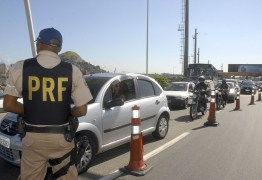IMPRUDÊNCIA: Em menos de 24 horas, PRF flagra cerca de 270 infrações de trânsito na Paraíba
