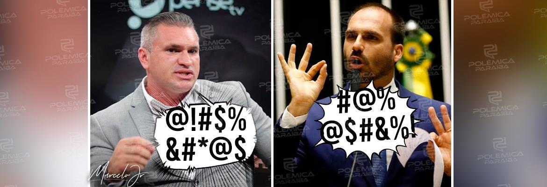 f8b423dc ee64 452a a824 078733abc677 - 'REIZINHO': Julian Lemos e Eduardo Bolsonaro discutem nas redes sociais - VEJA VÍDEO