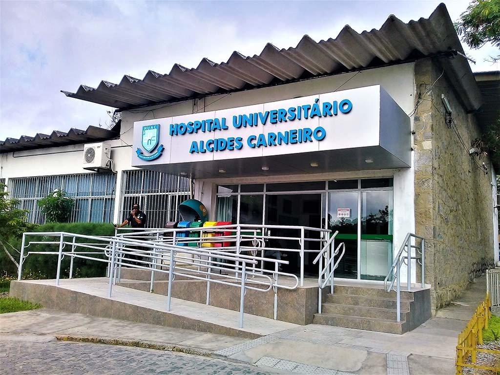 huac0803a - Hospital Universitário Alcides Carneiro completa 69 anos atendendo população