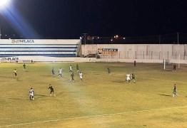 Atlético-PB e Sousa terminam jogo empatados na noite desta quinta-feira