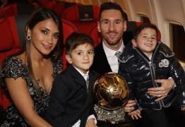 Lionel Messi conquista Bola de Ouro pela sexta vez