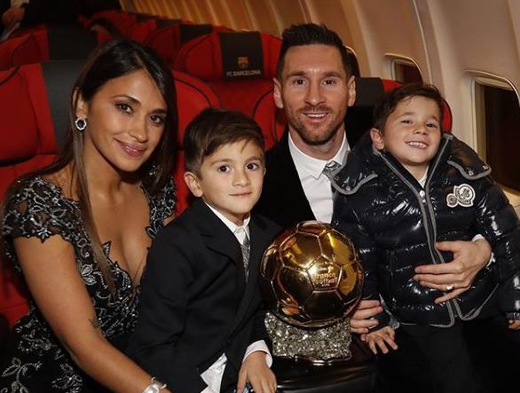 leomessi - Lionel Messi conquista Bola de Ouro pela sexta vez
