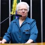 luiza erundina - OFICIAL! Erundina anuncia candidatura do PSol à presidência da Câmara