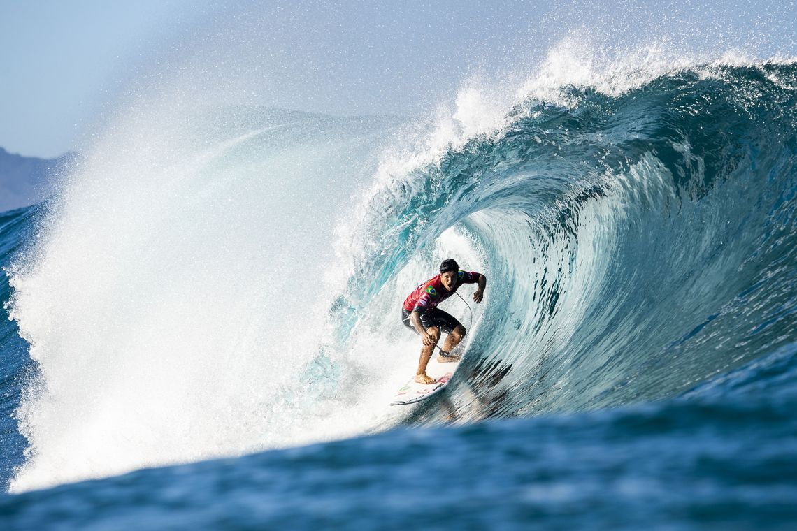 medina g1477pipe19cestari - Surfistas Gabriel Medina e Ítalo Ferreira se classificam para Tóquio 2020
