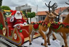 'Chegada de Papai Noel' em Campina Grande acontece neste domingo