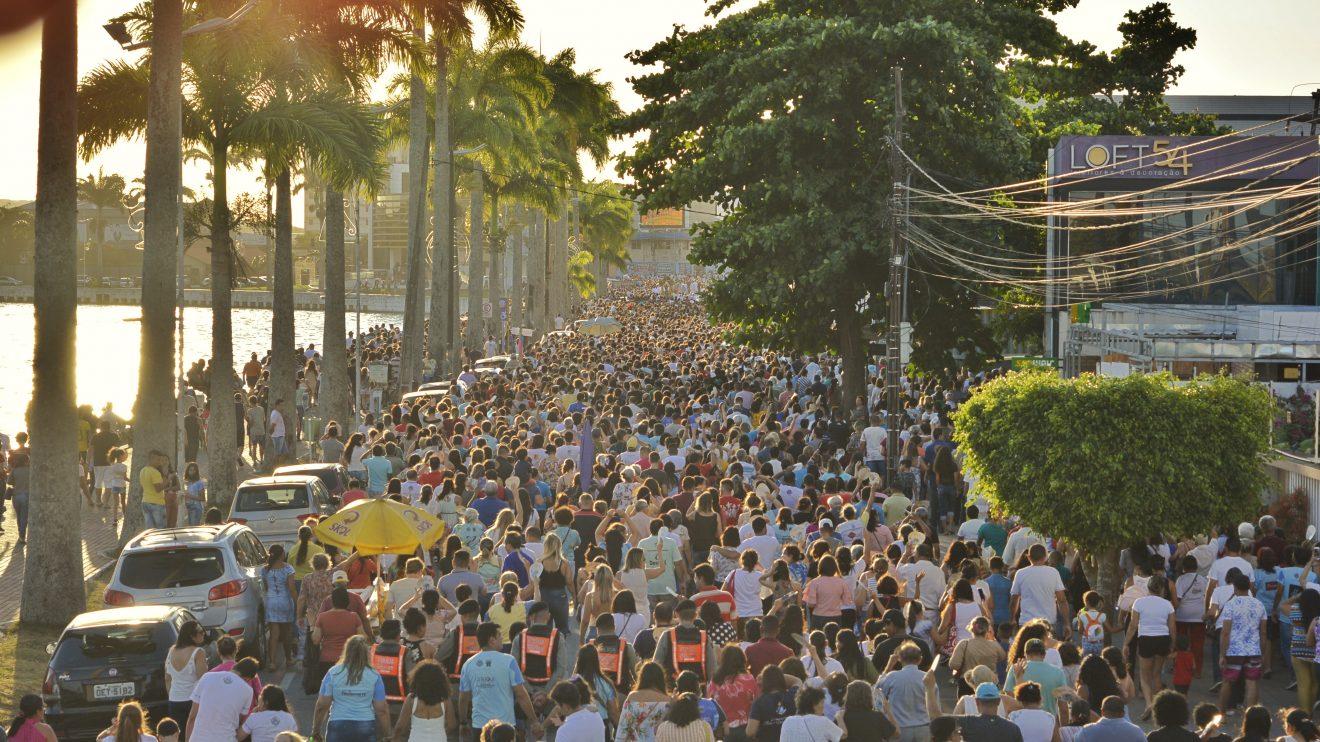 procissao3 - Festa de Nossa Senhora da Conceição atrai uma multidão pelas ruas de Campina Grande