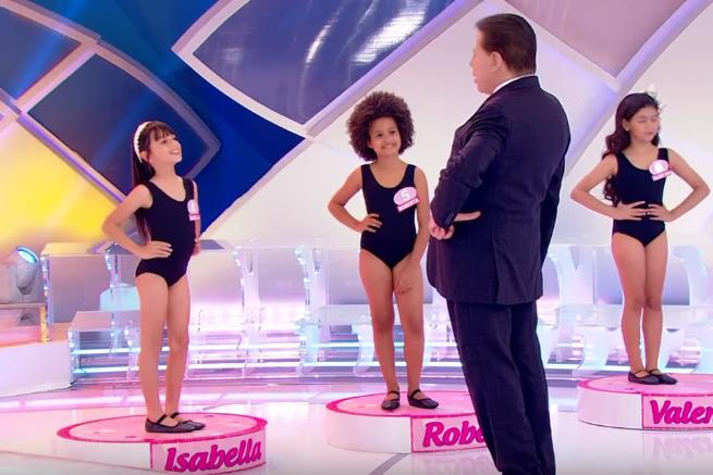 silvio santos - Programa Silvio Santos: Justiça recebe novas denúncias sobre concurso de miss infantil