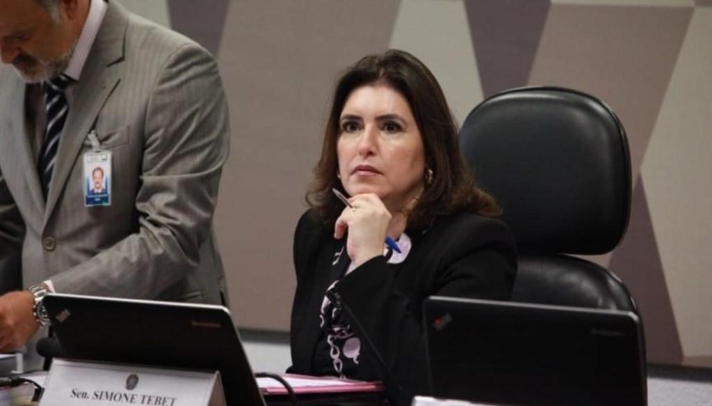 simone tebet negocia votar pacote anticrime da camara em troca de 2a instancia simone tebet  1024x584 - CCJ do Senado aprova projeto que retoma prisão em segunda instância