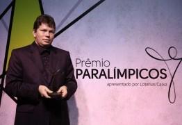 Treinador paraibano recebe prêmio de Melhor Técnico nas Modalidades Coletivas em cerimônia do Prêmio Paralímpicos 2019