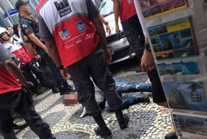 1 whatsapp image 2020 01 24 a 15315178 - Policial de folga reage à tentativa de assalto, atira em suspeito e deixa duas pessoas feridas