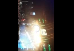 Palco de Gusttavo Lima pega fogo durante show e assusta fãs – VEJA VÍDEO