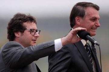 Fabio Wajngarten e Bolsonaro - Secretário de comunicação de Bolsonaro reage, corre armado e prende assaltante em SP