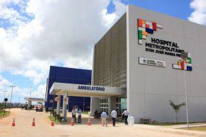 Hospital Metropolitano Dom José Maria Pires 300x200 - João Azevêdo anuncia Hospital de Campanha no estacionamento do Metropolitano, em Santa Rita
