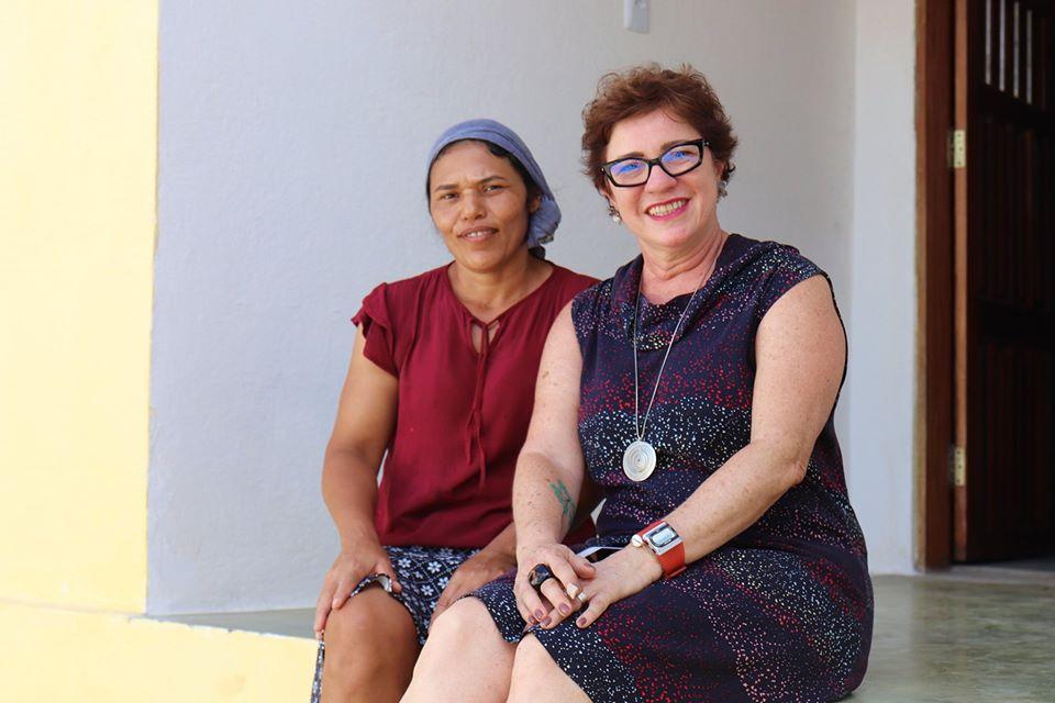 Visita Casas Reformadas pelo Projeto ÊPA 1 - Prefeita Márcia Lucena visita residências beneficiadas com obras de reforma e ampliação pelo projeto ÊPA na Comunidade Terras Belas