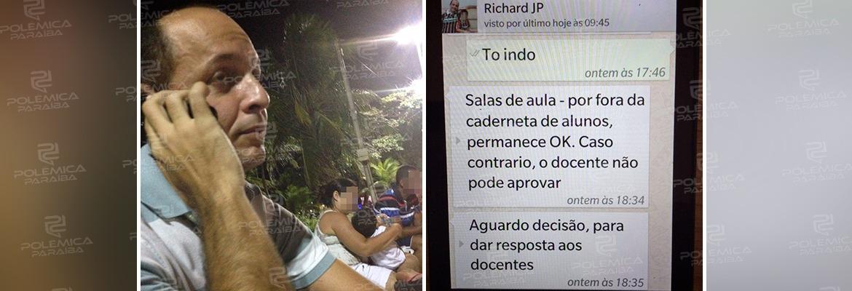 WhatsApp Image 2020 01 30 at 10.55.32 - CHANTAGEM E ESPIONAGEM: Auditor do TCE exigiu R$200 mil para fazer 'vista grossa' para fraudes dentro da Cruz Vermelha - VEJA OS PRINTS