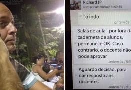 CHANTAGEM E ESPIONAGEM: Auditor do TCE exigiu R$200 mil para fazer 'vista grossa' para fraudes dentro da Cruz Vermelha – VEJA OS PRINTS