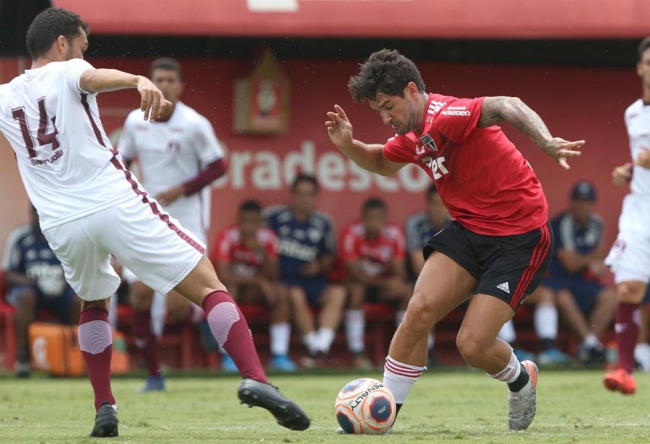 alexandre pato spfc - São Paulo perde para o Juventus em jogo-treino