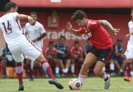 São Paulo perde para o Juventus em jogo-treino