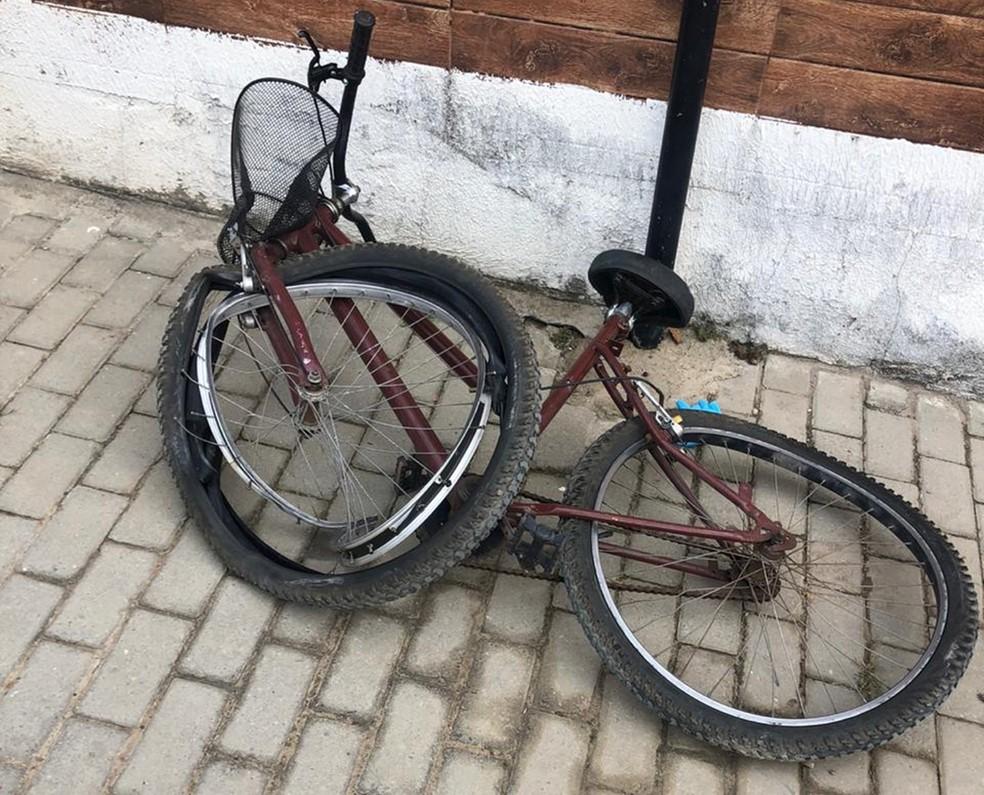 bicicleta pedreiro acidente joao pessoa - Pedreiro atropelado em Quadramares não teria sido transferido para UTI