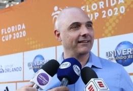 Presidente do Palmeiras fala em 'cautela' na formação do elenco