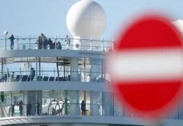 MEDO DO CORONAVIRUS: Cruzeiro com 7 mil pessoas é bloqueado em porto da Itália