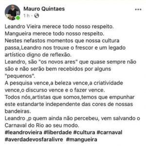 enredo jesus 2 - POLÊMICA DIVINA: 'Jesus Cristo da Mangueira' agita Carnaval antes da folia começar