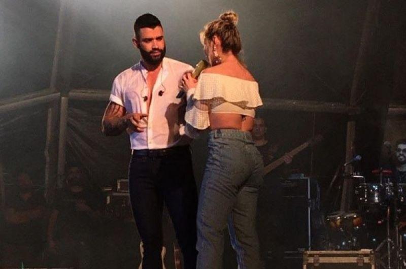 gsavo lima no lovina - Bêbado, Gusttavo Lima entrega detalhes de relação sexual com esposa durante show em Cabedelo - VEJA VÍDEO