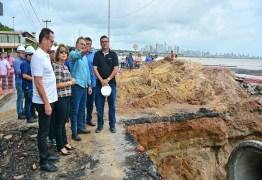 Após realizar estudos PMJP estende prazo para conclusão de obras na Barreira do Cabo Branco
