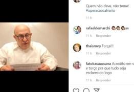 Ney Suassuna usa redes sociais para se defender de acusações da Operação Calvário