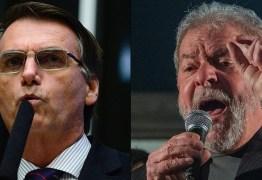 PESQUISA CNT/MDA: Bolsonaro lidera intenção de voto para 2022 seguido por Lula