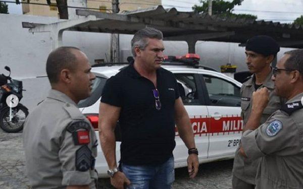 pmjp carnaval 1 600x375 - Julian Lemos visita Companhias e Batalhões da polícia da PB, busca soluções e se consolida como o parlamentar que mais atua pela Segurança Pública