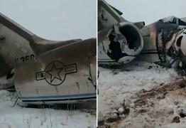 Talibã assume atentado contra avião que transportava mais de 80 militares dos EUA de alta patente – VEJA VÍDEO