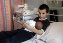 Menino de 10 anos vai ser pai na Rússia