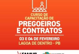 Curso de Capacitação de Pregoeiros acontece em Lagoa de Dentro nos dias 3 e 4 de fevereiro