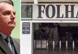Folha diz em editorial que Bolsonaro é chefe de bando e terá curto prazo; confira