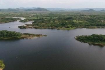 Açude de São Gonçalo Fevereiro de 2020 e1582549800663 - Volume de água do Açude de São Gonçalo atinge 24 milhões de metros cúbicos - VEJA VÍDEO