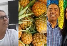 HORTIFRUTI DA CALVÁRIO: Após 'mangas', delatora cita 'caixa de abacaxis' na entrega de R$30 mil a filho de Damião Feliciano – VEJA VÍDEO