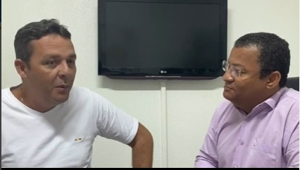 Capturar 26 - Nilvan Ferreira se reúne com presidente do Democracia Cristã: 'discutindo saúde, educação e mobilidade urbana' - VEJA VÍDEO
